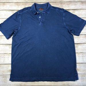 Tommy Bahamas Medium Relax Polo Shirt Blue